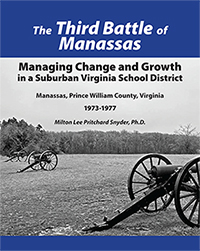 The Third Battle of Manassas paperback book
